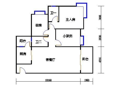 Y1栋3层01单元