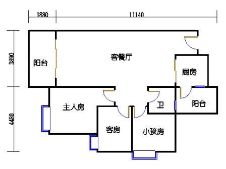 Y1栋3层04单元