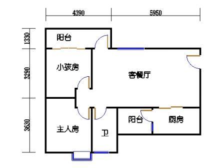 Y1栋4、7、10、13、16层03单元
