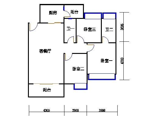 4栋A座丽水轩01单位