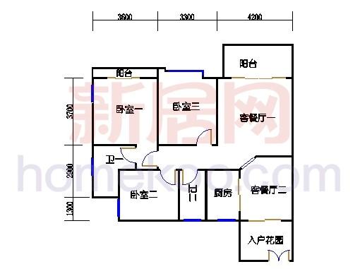 A4栋17-18层01单位