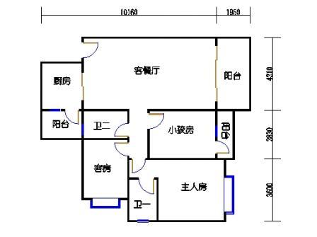 Y2栋2层02单元