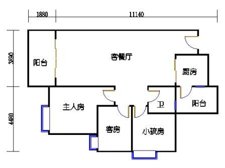 Y2栋2层04单元