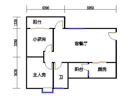 Y2栋3层03单元
