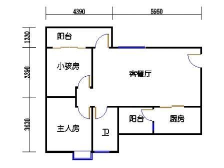 Y2栋4、7、10、13、16、19层03单元