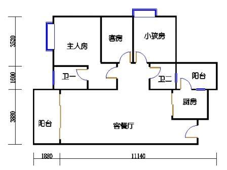 Y2栋5、6、8、9、11、12、14、15、17、18、20、21层05单元