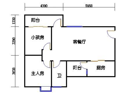 Y2栋22层03单元