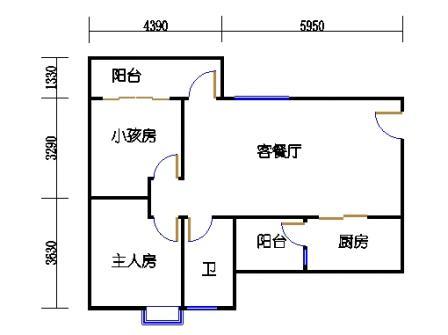 Y2栋23层03单元