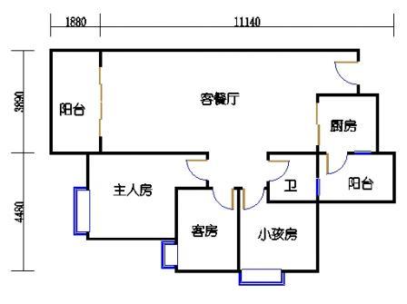 Y2栋23层04单元