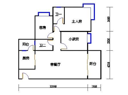 Y3栋3层01单元