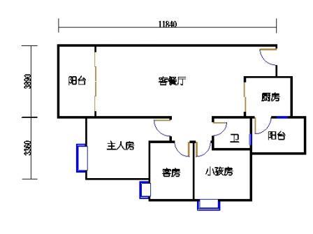Y3栋4、7、10、13、16、19层04单元