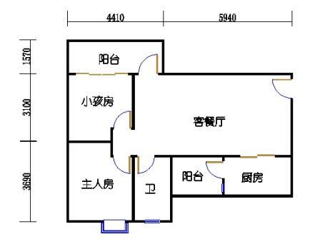 Y3栋22层03单元