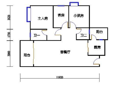 Y3栋22层05单元
