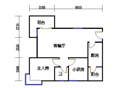 Y4栋2层03单元