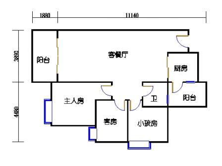 Y4栋2层04单元