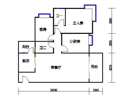 Y4栋3层01单元