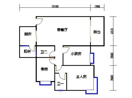 Y4栋4、7、10、13、16层02单元