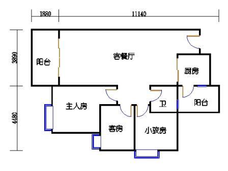 Y4栋4、7、10、13、16层04单元