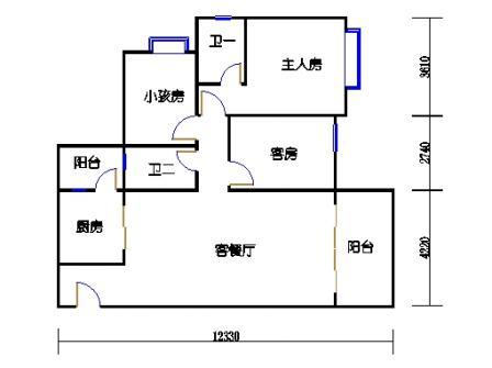 Y4栋19层01单元