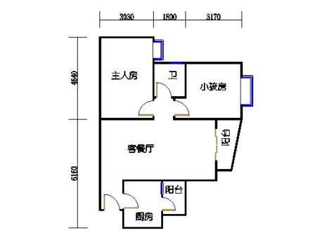 1栋6层~30层04单元