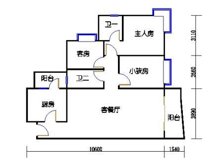 1栋6层~30层07单元