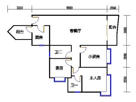 1栋6层~30层08单元