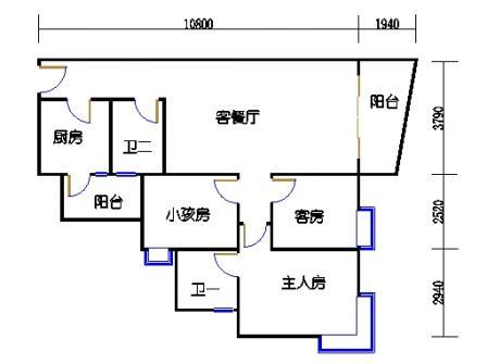2栋6层~30层02单元