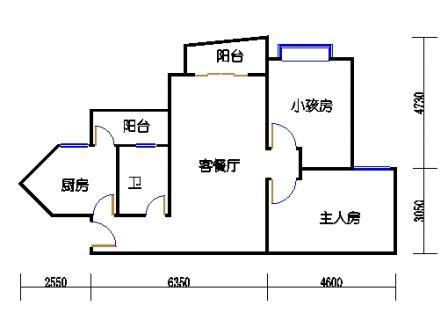 2栋6层~30层03单元