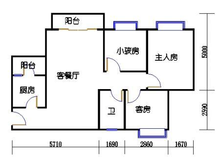 D4栋5-15层03单元