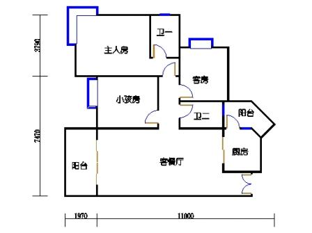 A6栋5~27层02单元