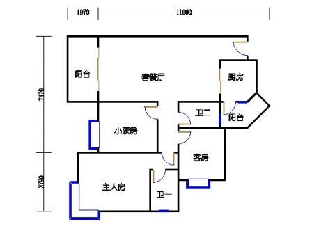 A6栋5~27层03单元