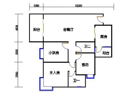 13栋2梯04单元