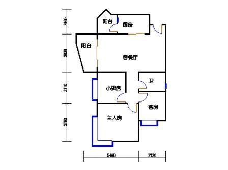 D1号楼2-17层03单元