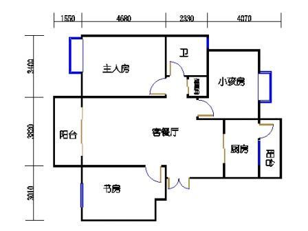 6栋602室