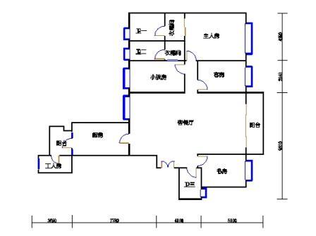 B塔5-13、16-29、32-38层B3单元