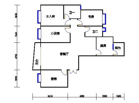 C塔(D)5-29层C1单元