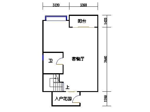 E塔6-13、15-26层E1单元