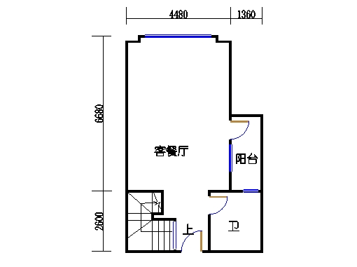 E塔6-13、15-26层E2单元