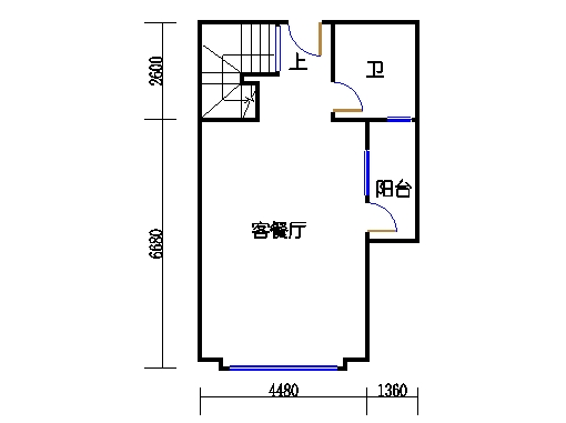 E塔6-13、15-26层E3单元