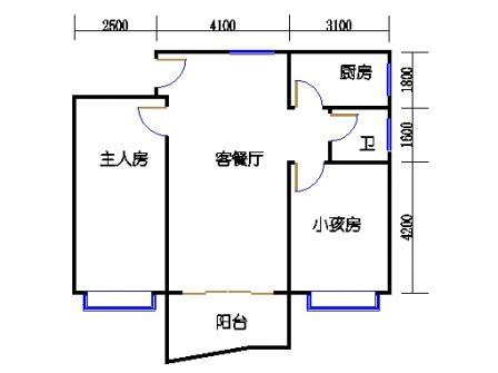 3-12层59号梯01单元
