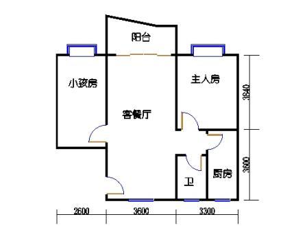 3-12层59号梯04单元