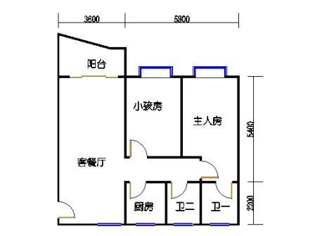 3-12层61号梯03单元