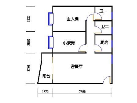 3-12层65号梯03单元