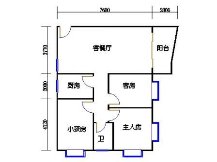 3-12层67号梯01单元