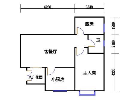 6栋3-10层标准02单元