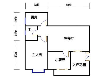 6栋3-10层标准03单元