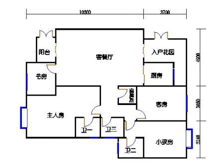 6栋3-10层合并01、02单元