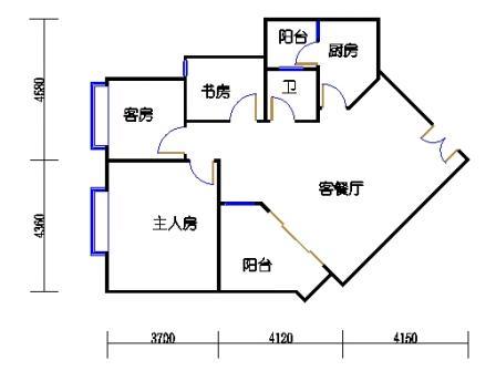7栋3-10层03单元