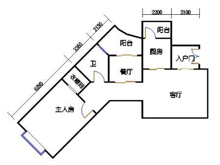8栋3-10层标准02单元