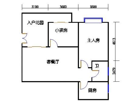 8栋3-10层标准03单元